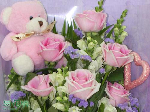 •玫瑰花束、戀人花束、生日花束、情人節花束。