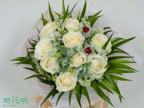 『七夕情人節促銷活動』•玫瑰花束、戀人花束、生日花束、情人節花束。