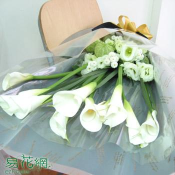 白海芋花束