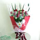 濃情蜜意紅玫瑰花束